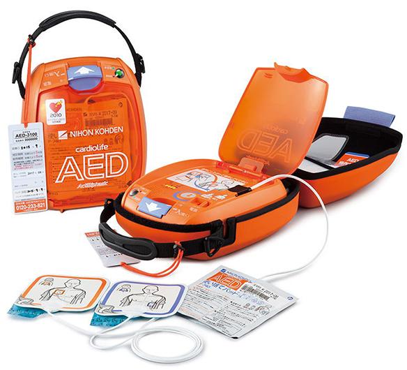日本光電 AED-3100